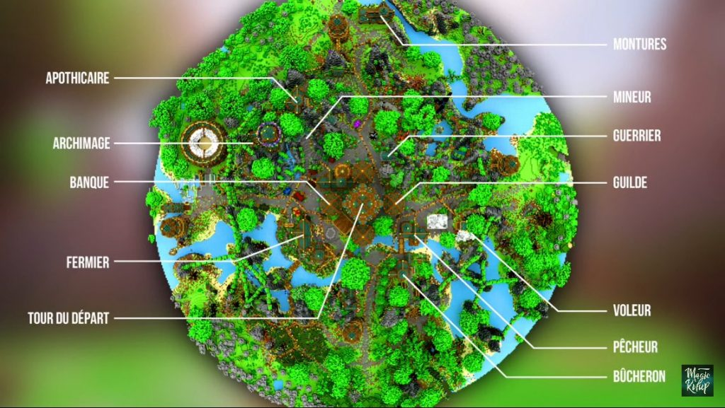 Landaria map